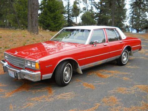 sell   chevrolet caprice classic sedan  door   spokane washington united states