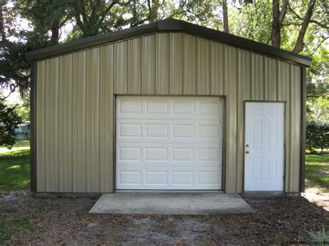 Small Metal Garage by Small Industrial Metal Buildings Steel Car Garage