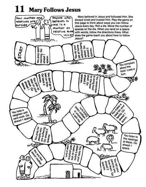coloring page jesus is the way following jesus printable sunday school