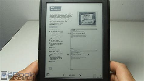 lit format ebook reader onyx boox t68 lynx pdf review video the ebook reader blog