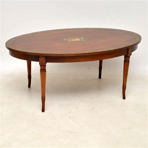 antique painted mahogany coffee table marylebone