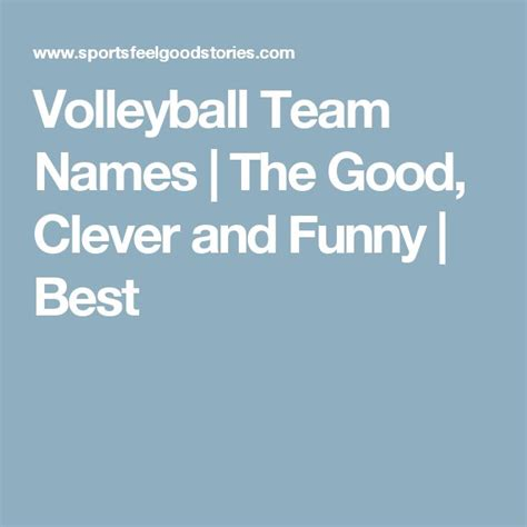 team themes and names best 25 volleyball team names ideas on pinterest