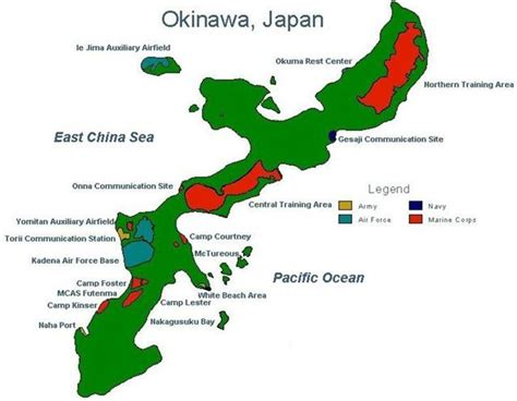 okinawa map the okinawa the ultimate expression of conventional american power