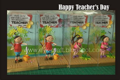 teachers day craft for eyk and crafts s day