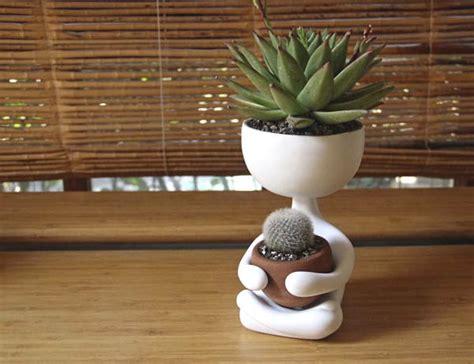 robert planta  adorable plant pot design swan