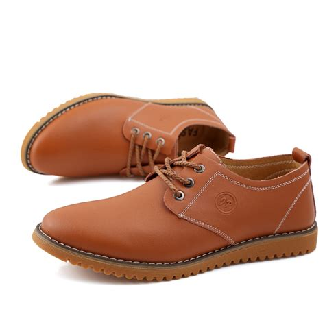 autumn business casual oxfords shoes big size