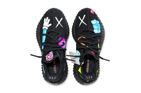 Adidas Yeezy Boost 350 V2 X Kaws by Kaws X Yeezy Boost 350 V2 Collab Imagined Sneakpeak Hype Magazine