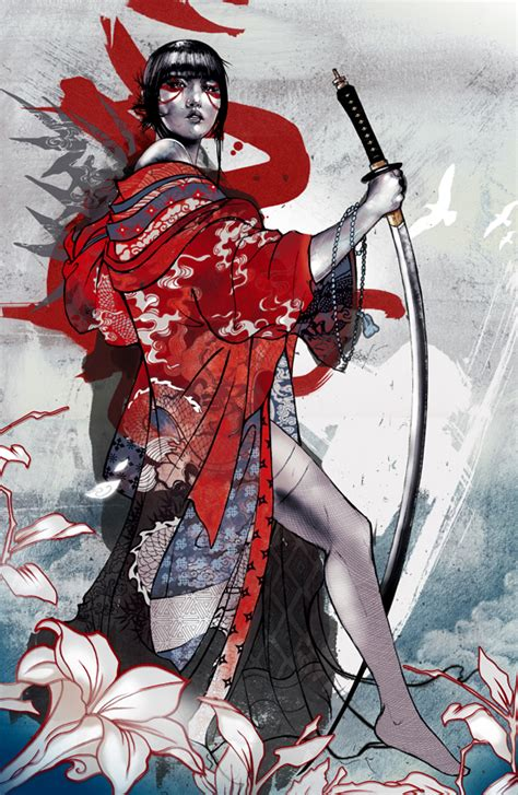 geisha assassin tattoo illustration inspiration geishas norway and geisha