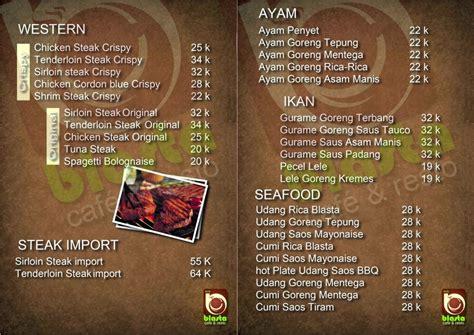 design menu cafe unik menu makanan cafe yang sedang booming saat ini bisnis borneo