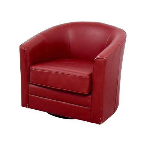 bobs furniture recliner chair 90 off bob s furniture bob s furniture red leather
