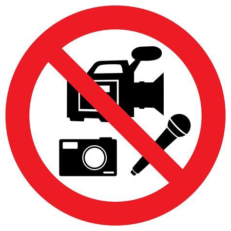 clipart no clipart no media recording allowed