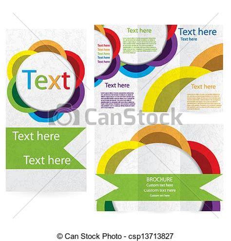 layout design in vector vector illustration of vector brochure layout design
