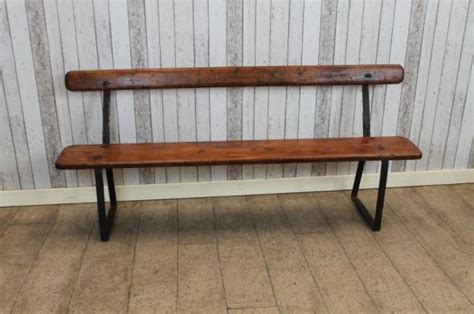 industrial style bench edwardian bench vintage industrial style