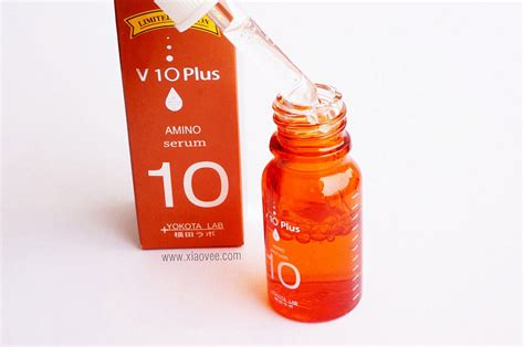 V10 Plus Amino Serum 10ml xiao vee v10 plus serum licorice amino pycnogenol vit a review