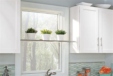 kitchen window shelf ideas bring the outdoors inside by installing an unobtrusive