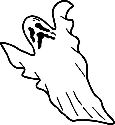 Scary Ghost Coloring Pages printable ghost coloring pages coloring me