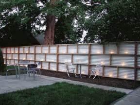 modern fence design ideas mixed medium creating an enchanted space fencing landscape ideas