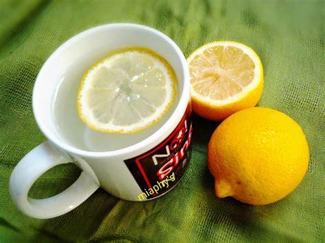 Manfaat Detox Lemon by Helmia Miaphy Minum Lemon Water Yoook