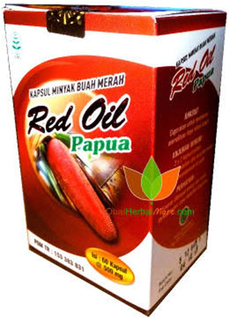 Kapsul Minyak Buah Merah Papua Original papua minyak buah merah papua toko obat herbal di bandung jual grosir eceran