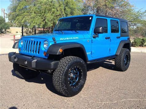 jeep lifted blue 1000 ideas about jeep wrangler lift kits on pinterest