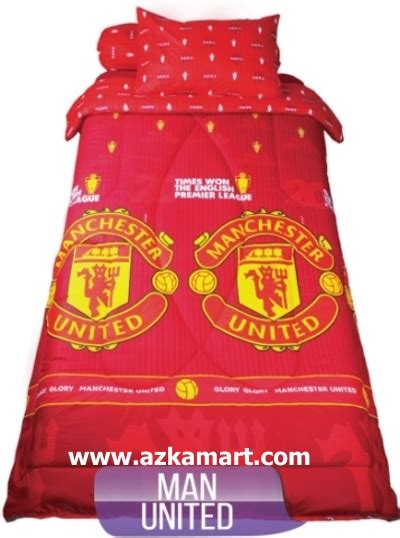 Sprei Manchaster United by Sprei Bedcover My Single New Motif Terbaru Toko