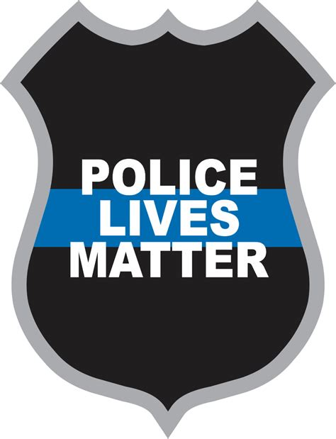 Polizei Aufkleber by Lives Matter Badge Decal