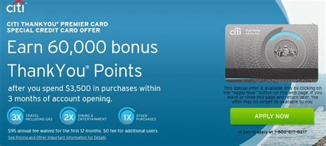 Thank You Points Credit Card