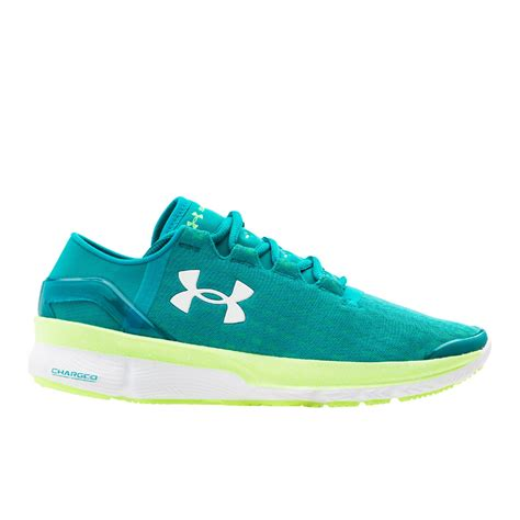 teal running shoes armour s speedform apollo 2 clutch running