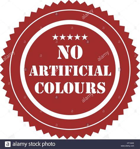 artificial colors no artificial colors sign stock photos no artificial