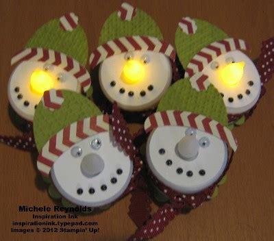 tealight snowman pins inspiration ink