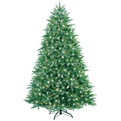 ge constant on xmas tree bbs ge 7 5 ft just cut fraser fir ez light artificial tree with 750 clear lights 01798hd