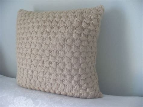 couch pillow inserts hand knit 16x16 throw pillow pillow insert included by