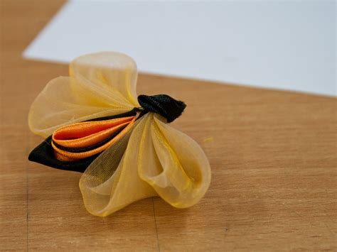 organza butterfly tutorial how to make a fabric bee diy tutorial