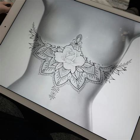 best 25 sternum tattoo design ideas on pinterest