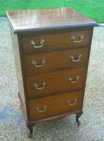 clean narrow mahogany chest of drawers antiques atlas