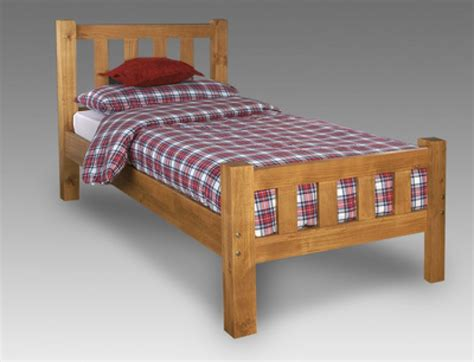 Limelight Astro 3ft Single Pine Wooden Bed Frame By All Wood Bed Frames