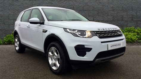 land rover discovery sport white used land rover discovery sport se td4 white au66ule