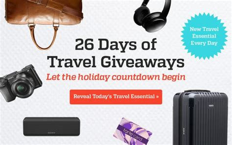 Travel Giveaways - sweepstakeslovers daily bergdorf goodman national geographic travel leisure more