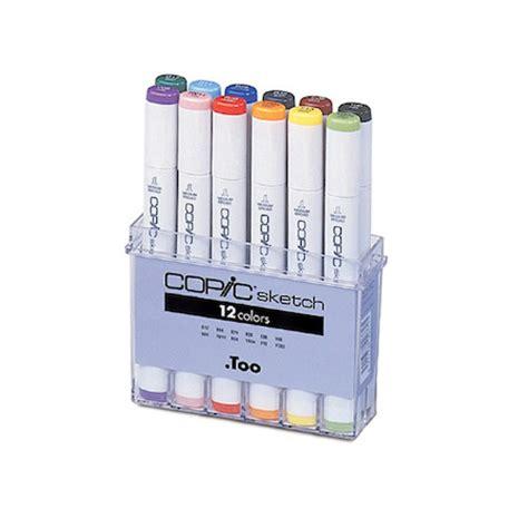 Copic Sketch Satuan Copic Marker Copic Sketch Marker Pen Set Of 12 Cult Pens