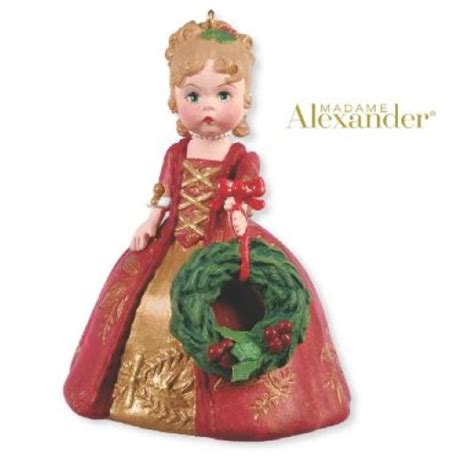 2012 madame alexander colonial christmas hallmark ornament