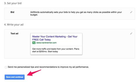 adwords bid adwords tutorial a step by step guide to your