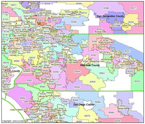 Zip Code Map Riverside County | riverside ca zip codes riverside county zip code