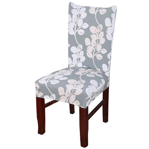 elastic chair seat covers removable elastic stretch slipcovers dining room