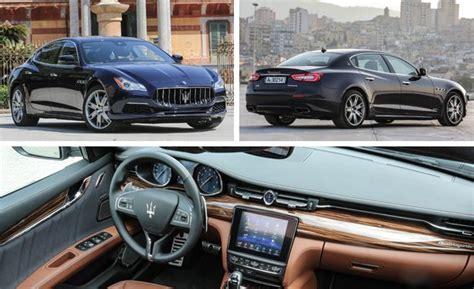 2017 maserati ghibli vs quattroporte 2017 maserati quattroporte drive review car and