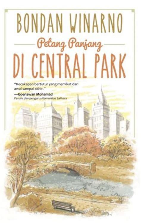 bukukita petang panjang di central park
