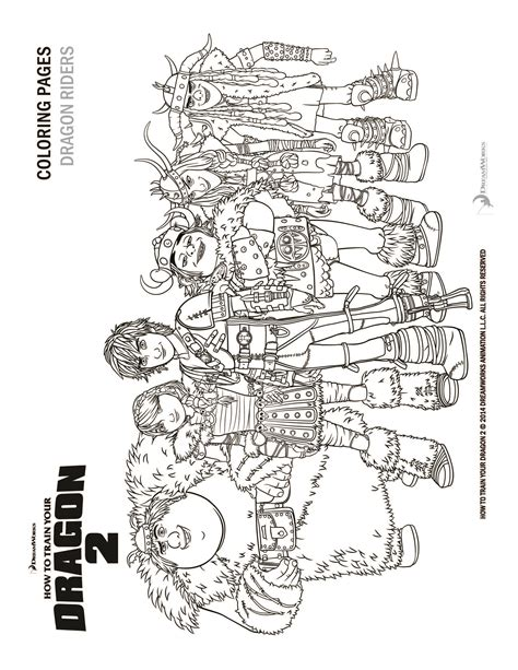 How To Train Your Dragon 2 Coloring Pages And Activity Sheets How To A Coloring Pages