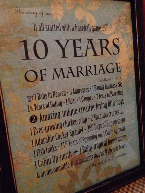 10th wedding anniversary quotes for husband quotesgram