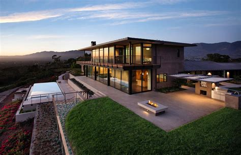 modern hill house designs contemporary hilltop home in california gets brilliant