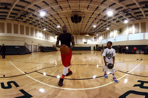 a day in the of lebron samsung s gear vr takes you