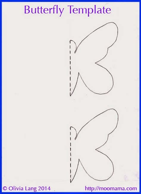butterfly painting template moomama diy 3d butterfly wall with free templates
